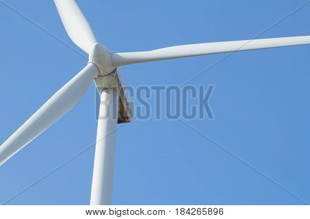 Wind Turbine Closeup