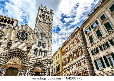 Cattedrale Di San Lorenzo In Genoa