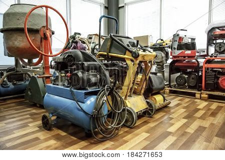 A Range Of Machines In Storage