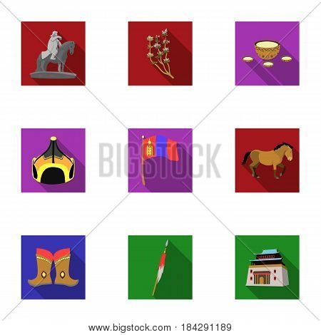 Set of icons about the mine. The extraction of coal, minerals, protection of the miners. Processing of coal.Mine industral icon in set collection on flat style vector symbol stock web illustration.