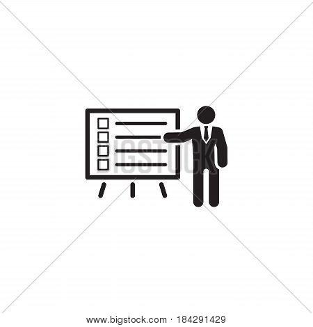 Problem Statements Icon. Flat Design. Isolated Illustrations