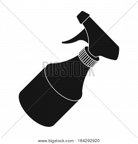 Spray.Barbershop single icon in black style vector symbol stock illustration .