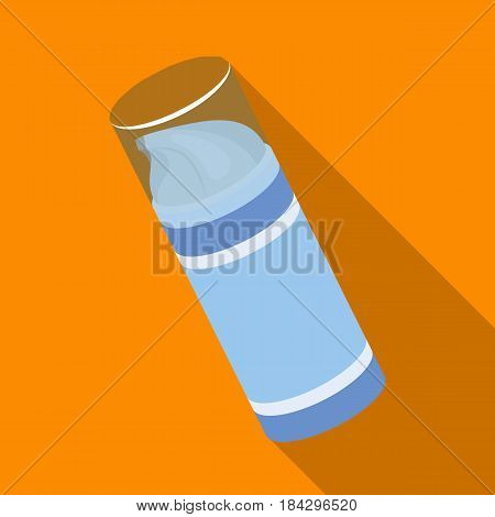 Shaving foam.Barbershop single icon in flat style vector symbol stock illustration .