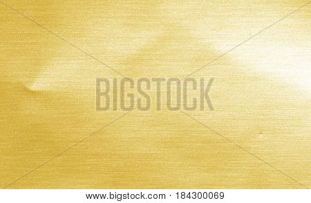 Shiny Hot Yellow Gold Foil Golden Color Glitter