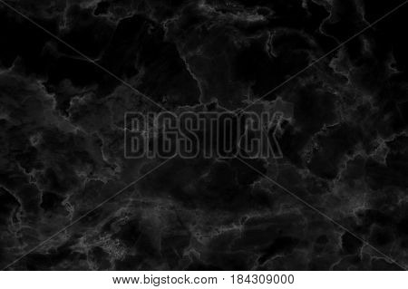 Black marble patterned texture background, Abstract natural marble black and white for your design art work.
