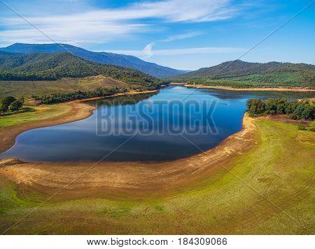 Lake Buffalo Landscape, Alpine Shire, Victoria, Australia