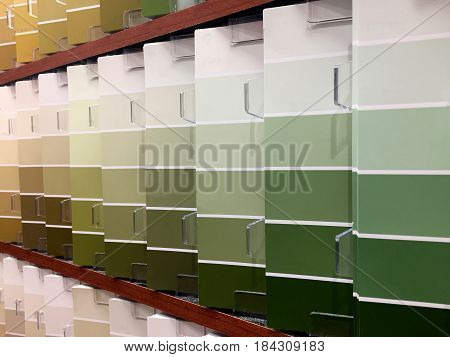 paint color sample, colorful painting samples, painting color palate, painting swatches, designer preparing paint colors for painting house, wall samples of painting samples