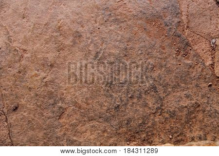 Rusty brown stone grunge abstract texture background.