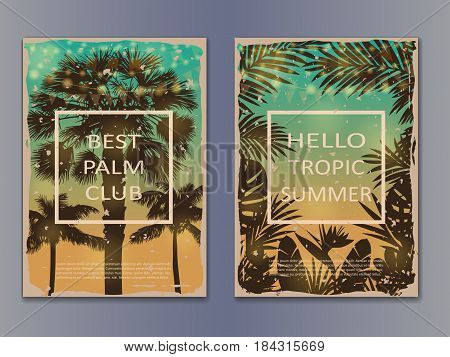Tropic Vintage Posters Mock Up