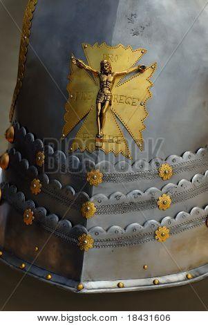 Medieval panoply armour replica