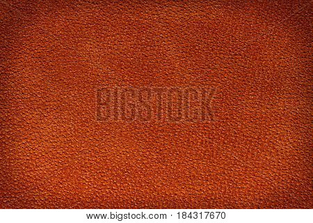 Leather red brown texture background