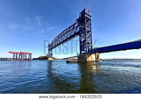 Goethals Bridge And Arthur Kill Vertical Lift Bridge