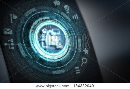 User digital display