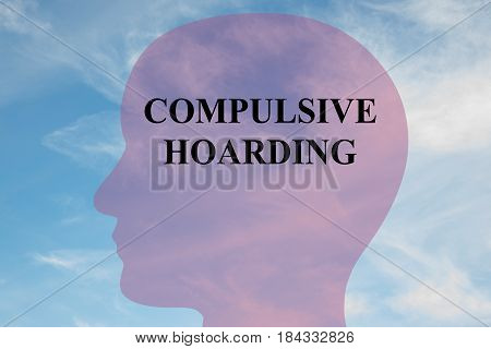 Compulsive Hoarding - Mental Concept
