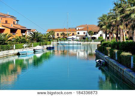Marina village of Policoro scenic view Basilicata Italy