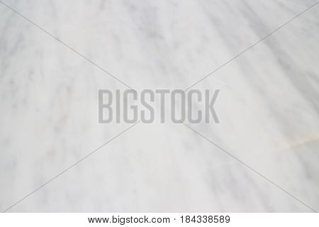 Beautiful And Clean White Mable Top Table stock photo