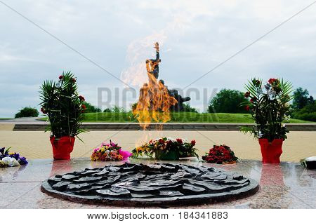 May 8 2016. Russia. Rostov-on-Don. Memorial complex