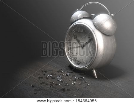 Table Clock Time Run Out