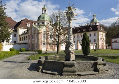 Cistercian monastery of St. Marienthal in East Germany