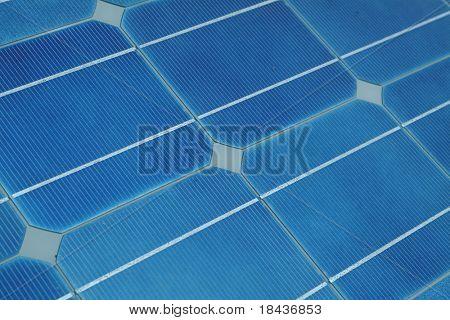 solar panels - detail
