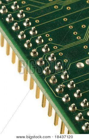 detail of elecronic circuit