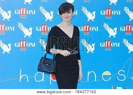 Giffoni Valle Piana Sa Italy - July 20 2012 : Arisa at Giffoni Film Festival 2012 - on July 20 2012 in Giffoni Valle Piana Italy