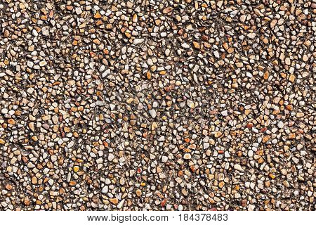 Sand stone pebbles texture, sand stone pebbles background for design.