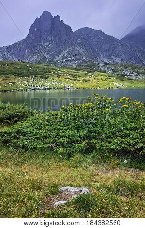 Amazing landscape of The Twin lake, The Seven Rila Lakes, Bulgaria