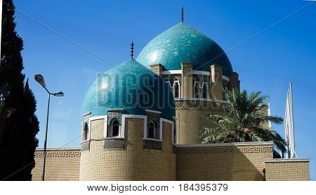 The royal cemetery and Mausoleum in Adamiyah Baghdad, Iraq