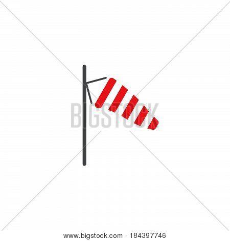 breeze icon isolated on white background .