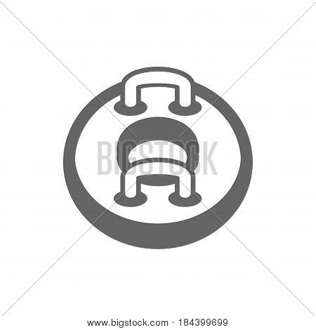 Towable Water Tube Inflatble Boat Floating Raft outline vector icon. Beach. Summer. Summertime. Holiday. Vacation ride water sport eps 10