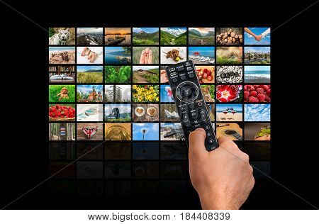 Big Multimedia Broadcast Video Wall With Remote Control