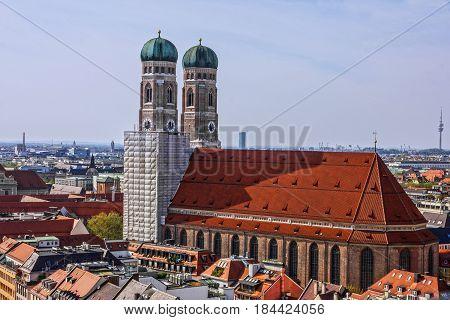 Munich Cathedral church - Frauenkirche, Bavaria, Germany