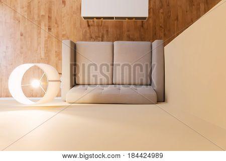 Large Luxury Interior Living Room