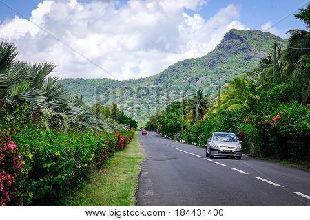 Street In Le Morne, Mauritius