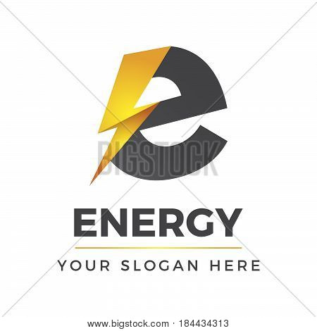 Energy Logo. Logo template for your business