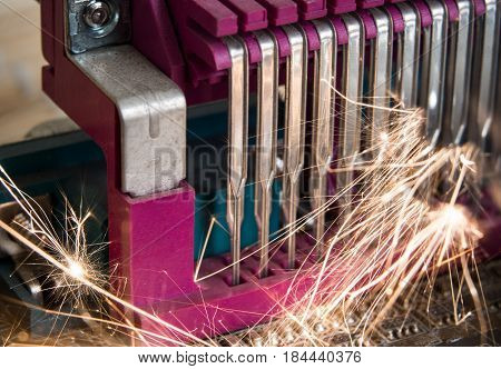 Sparks And Flames In Electronic Equipment