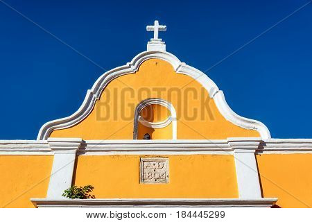 Yellow Colonial Architecture
