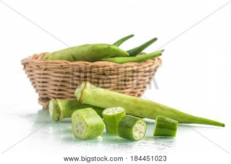 Sliced Brazilian Okra
