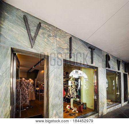 Vitrum Store In Como (hdr)