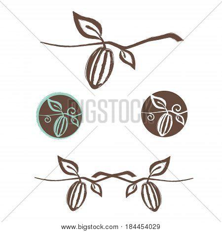 Illustration of the Cocoa Logo Design Set