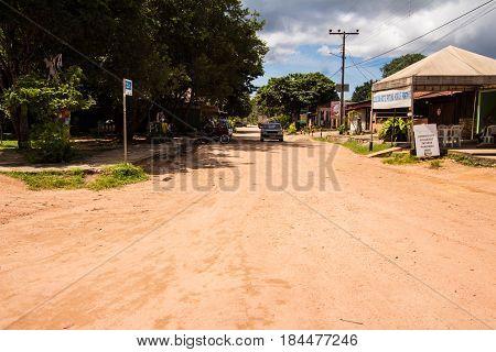 Sao Jorge City In Chapada Dos Veadeiros