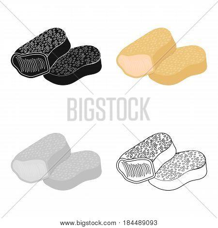 Nuggets vector illustration icon in cartoon design