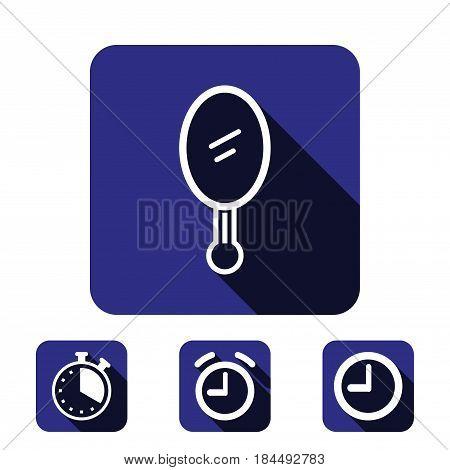 mirror icon stock vector illustration flat design