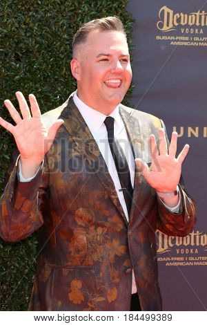 LOS ANGELES - APR 30:  Ross Matthews at the 44th Daytime Emmy Awards - Arrivals at the Pasadena Civic Auditorium on April 30, 2017 in Pasadena, CA