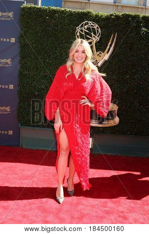 LOS ANGELES - APR 30:  Daphne Oz at the 44th Daytime Emmy Awards - Arrivals at the Pasadena Civic Auditorium on April 30, 2017 in Pasadena, CA