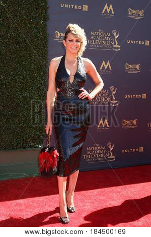 LOS ANGELES - APR 30:  Arianne Zucker at the 44th Daytime Emmy Awards - Arrivals at the Pasadena Civic Auditorium on April 30, 2017 in Pasadena, CA