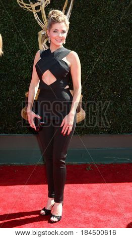 LOS ANGELES - APR 30:  Jen Lilley at the 44th Daytime Emmy Awards - Arrivals at the Pasadena Civic Auditorium on April 30, 2017 in Pasadena, CA