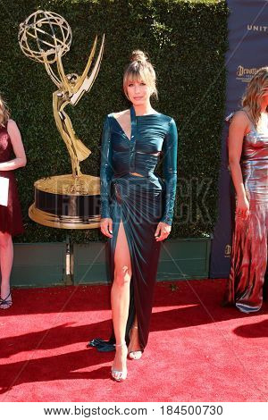 LOS ANGELES - APR 30:  Renee Bargh at the 44th Daytime Emmy Awards - Arrivals at the Pasadena Civic Auditorium on April 30, 2017 in Pasadena, CA