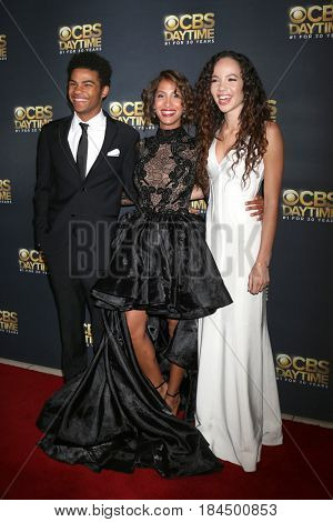 LOS ANGELES - APR 30:  Noah Alexander Gerry, Christel Khalil, Lexie Stevenson at the CBS Daytime Emmy After Party at the Pasadena Conferene Center on April 30, 2017 in Pasadena, CA
